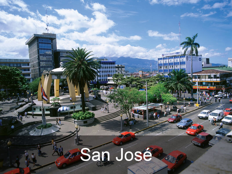 san-jose-bestemmingen